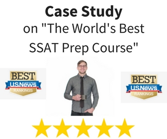 """World's Top Ranked SSAT Prep Course"" By U.S. News"