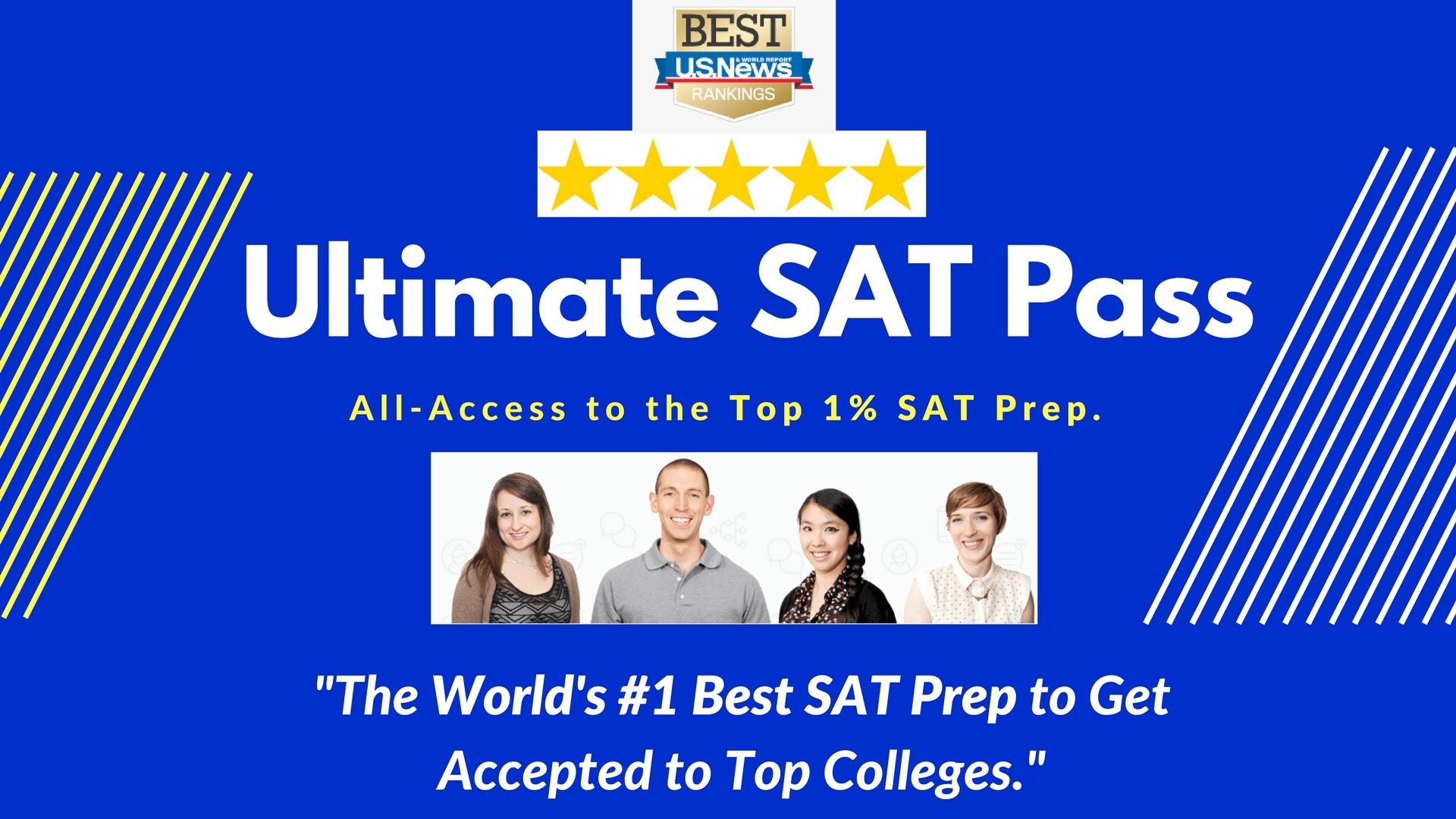 SAT Preparation Course by Top Test Prep.