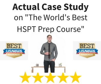 """""""The Best HSPT Course in America."""""""