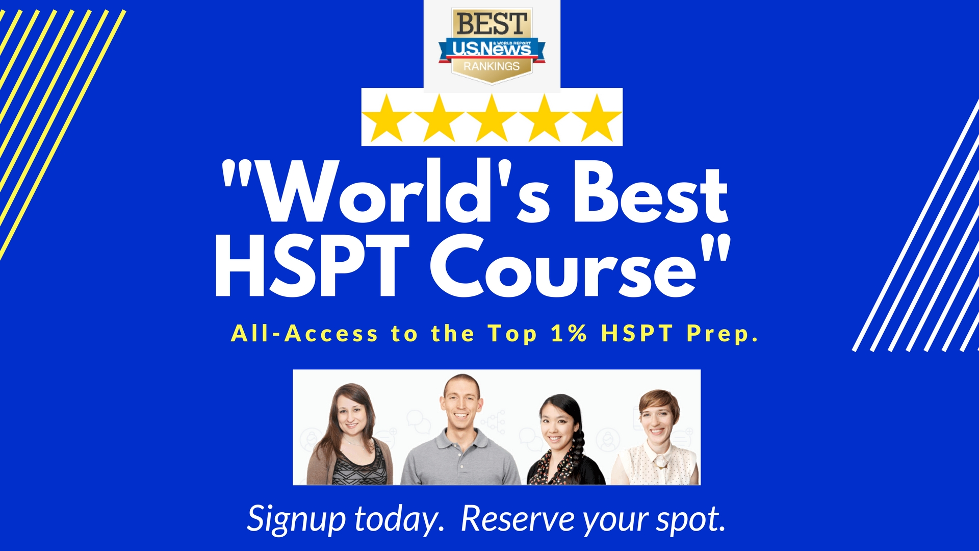 """""""World's Best HSPT Course"""" reviewed by Archdiocese."""