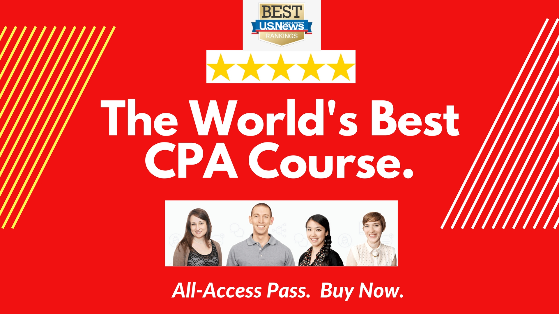 Best CPA Exam Prep Course. Ranked by U.S. News.