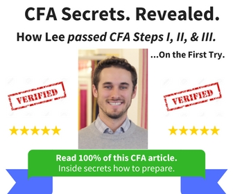 """Best CFA Exam"" Prep.   Find out how... by reading this entire review about the CFA exam."