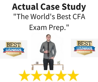 The Best CFA Exam Prep and Study Materials... as Ranked by U.S. News.