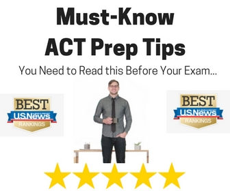 "ACT Exam Prep Tips & Strategies.    Purchase the ""World's Best ACT Course."""