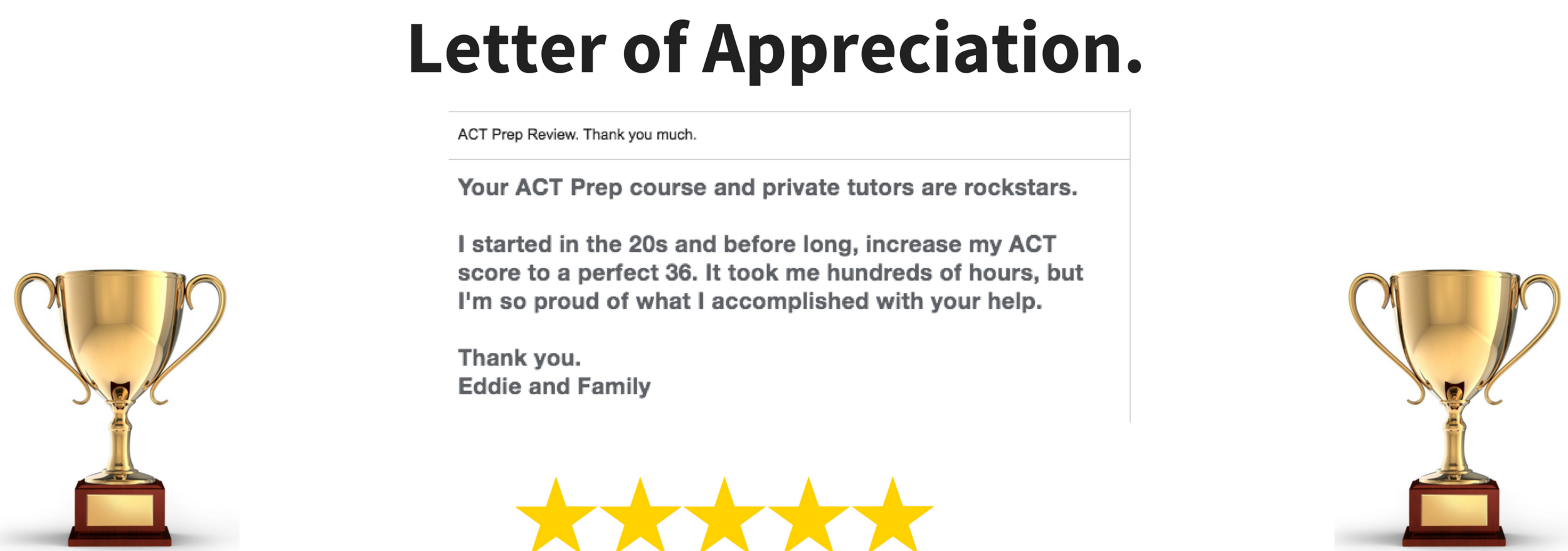 """ACT Prep Course - """"best review"""""""