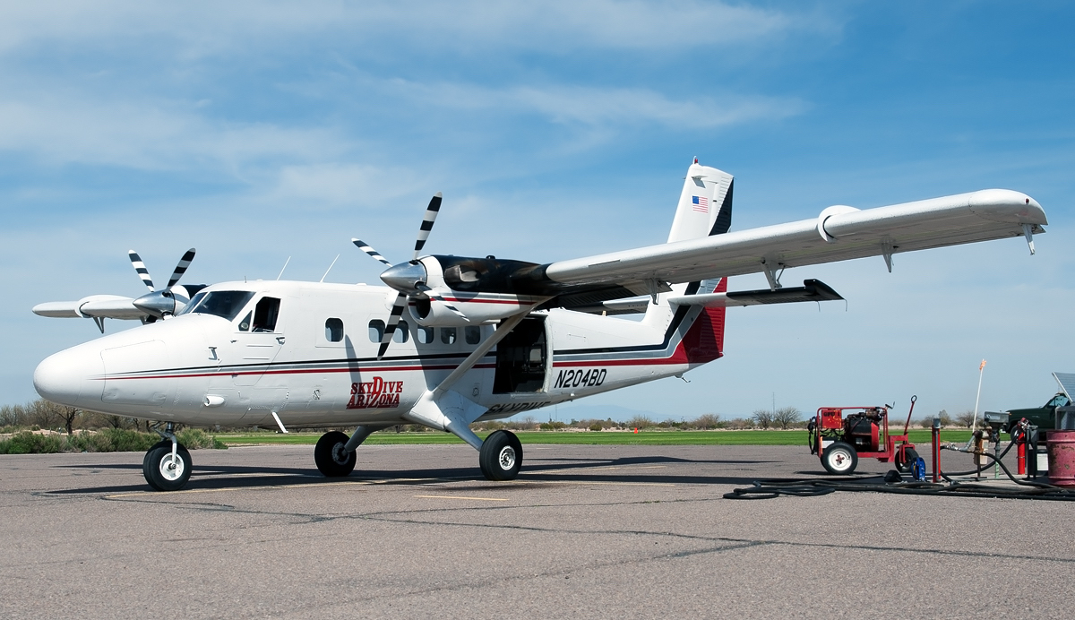 Visiting Super Twin Otter
