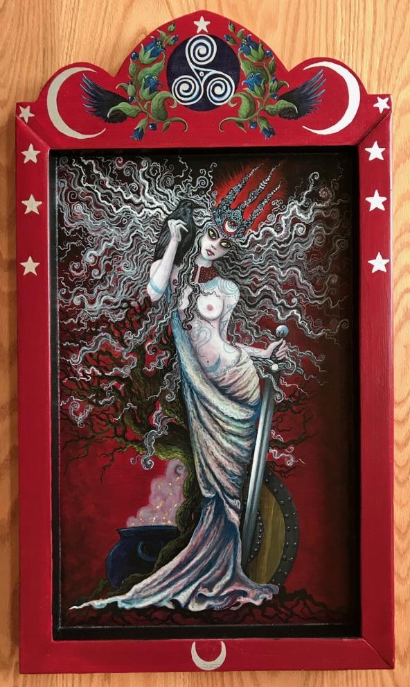 The Morrigan (Celtic Goddess)