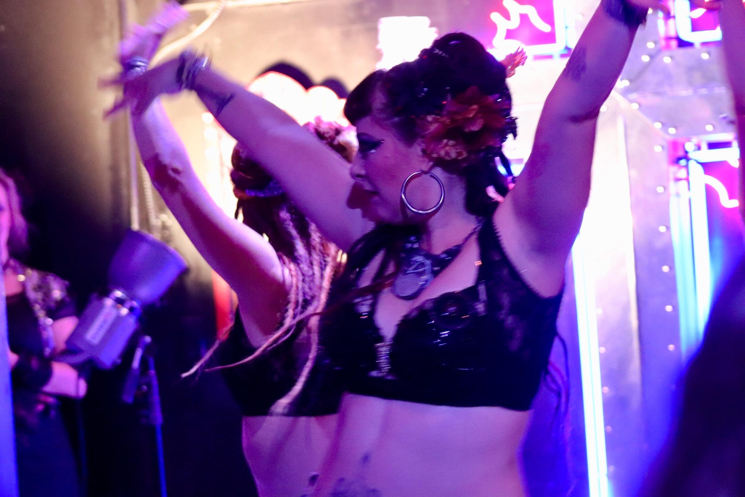 Danse Carouselle entertains a mesmerized crowd