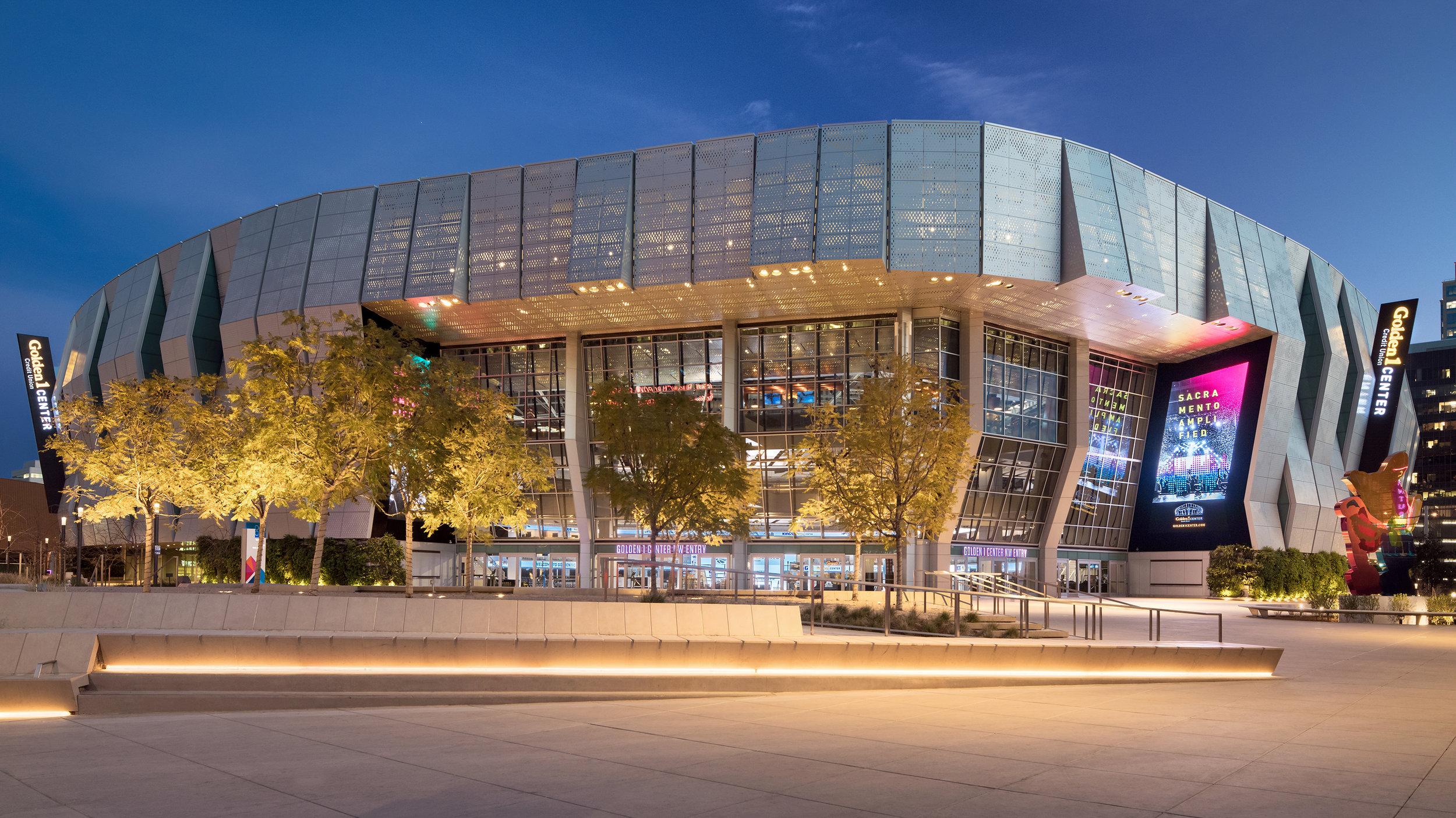 Civic & Entertainment:    Golden1 Center