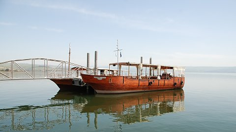 Day 4 - Ancient Boat, Magdala, Mount Of Beatitudes, Capernaum , Tabgha , And Boat Ride
