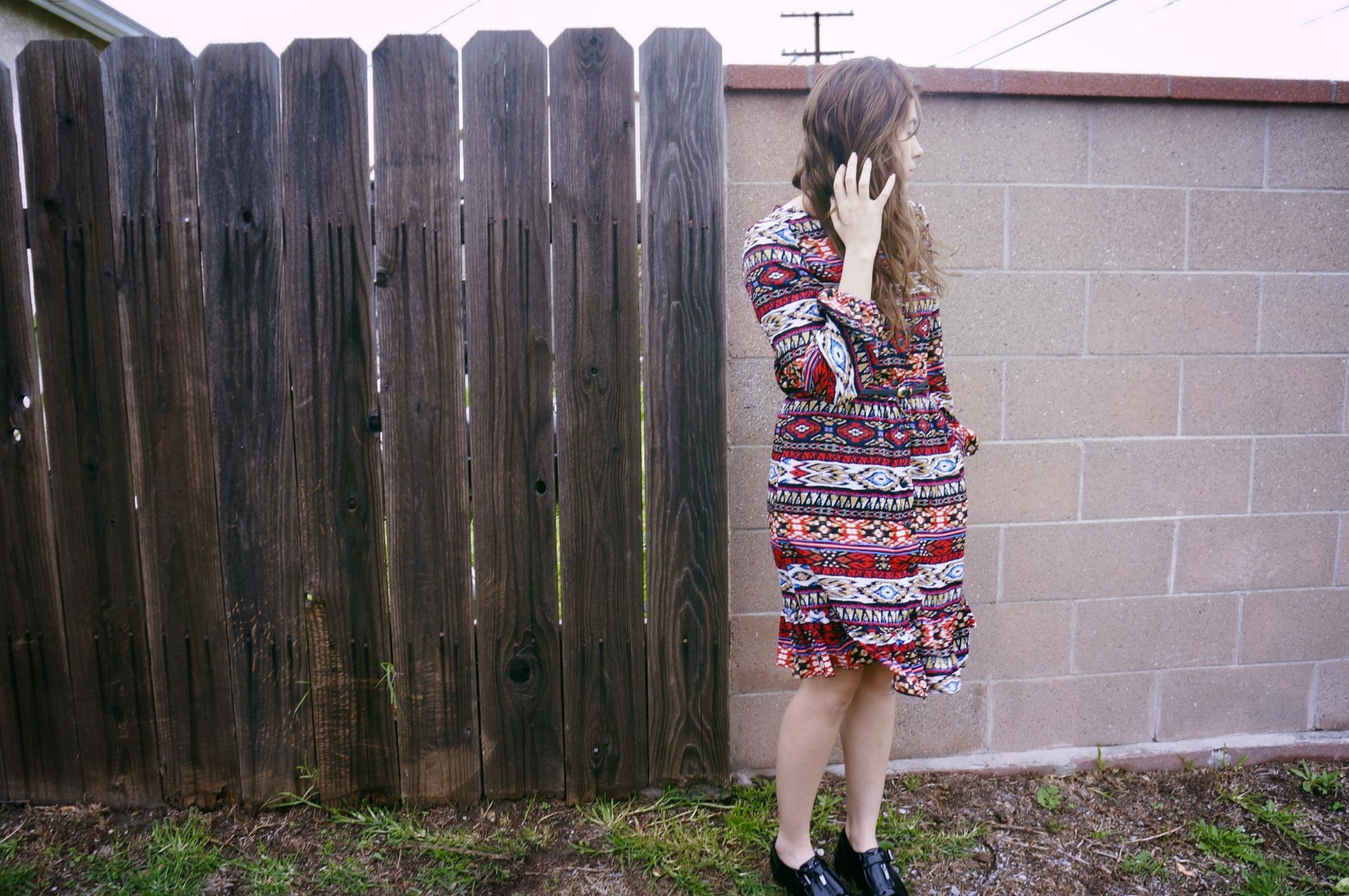 Mccall Long sleeve button up dress .jpg