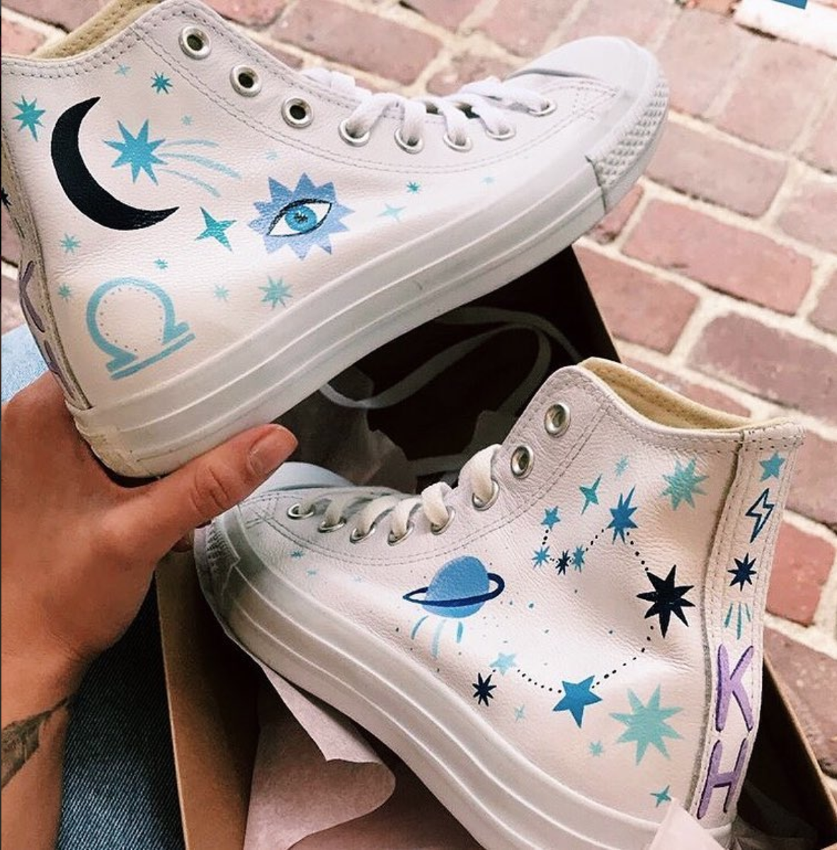 Custom Libra Converse
