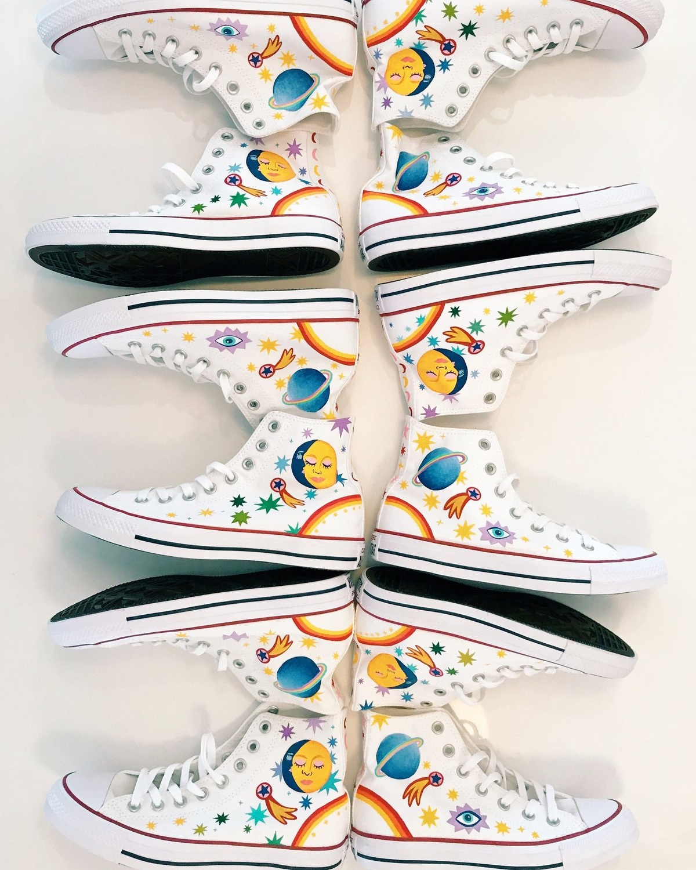 Mother Denim, Sun, Moon & Stars Sneaker Collection