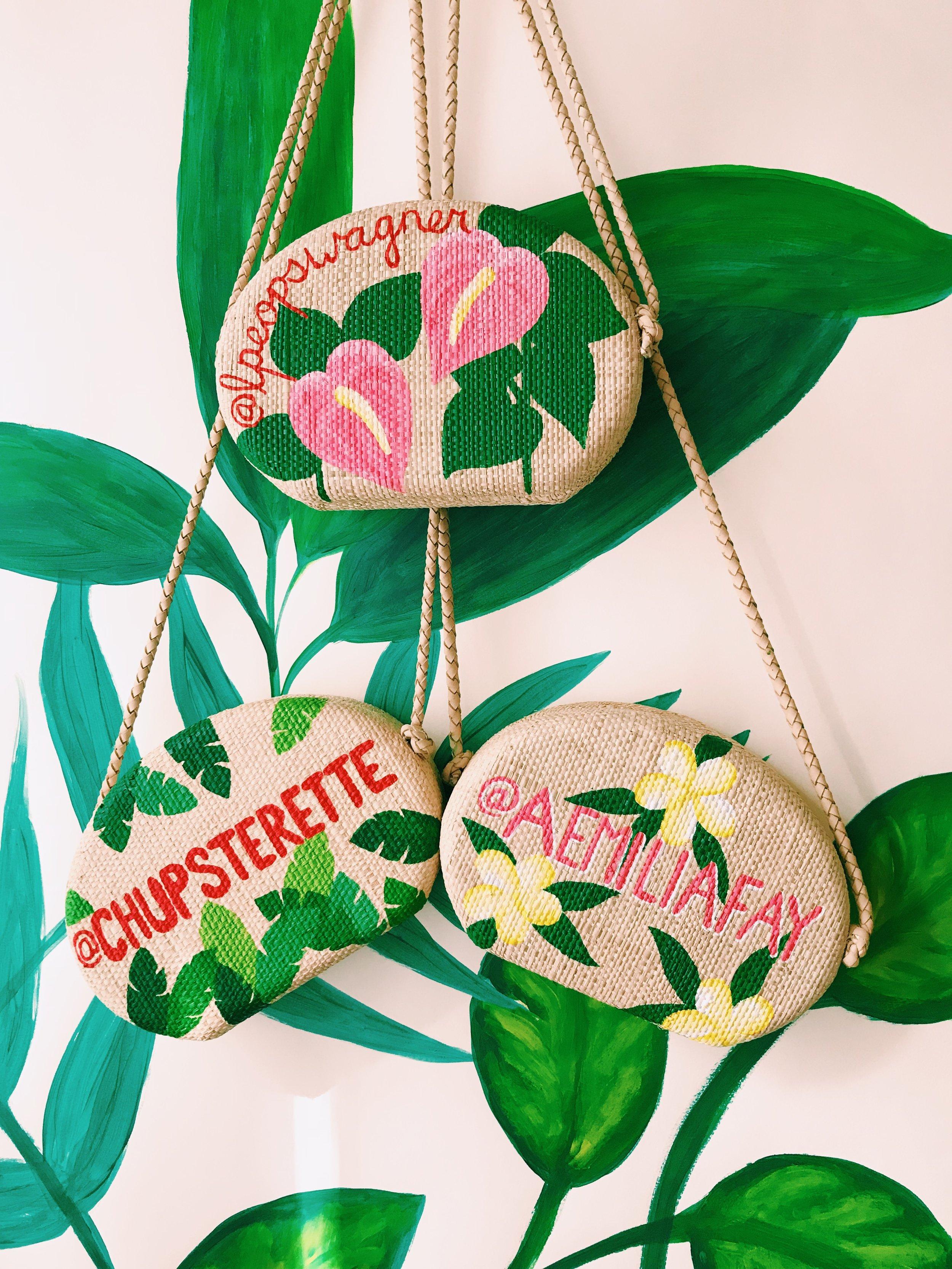 Schutz Shoes, Custom Bags, Editor + Influencer Gifting, 2017