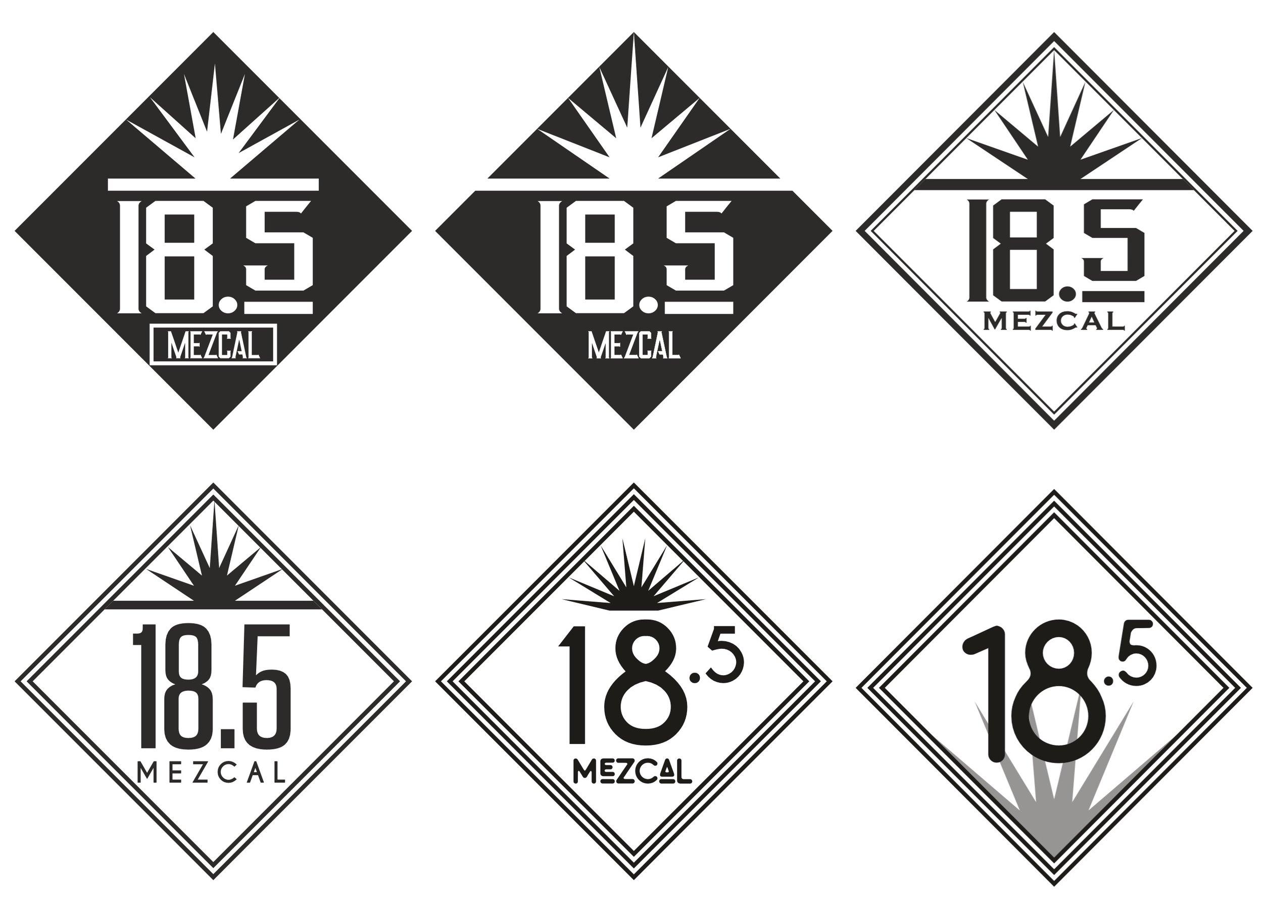 diseño de logotipo mezcal