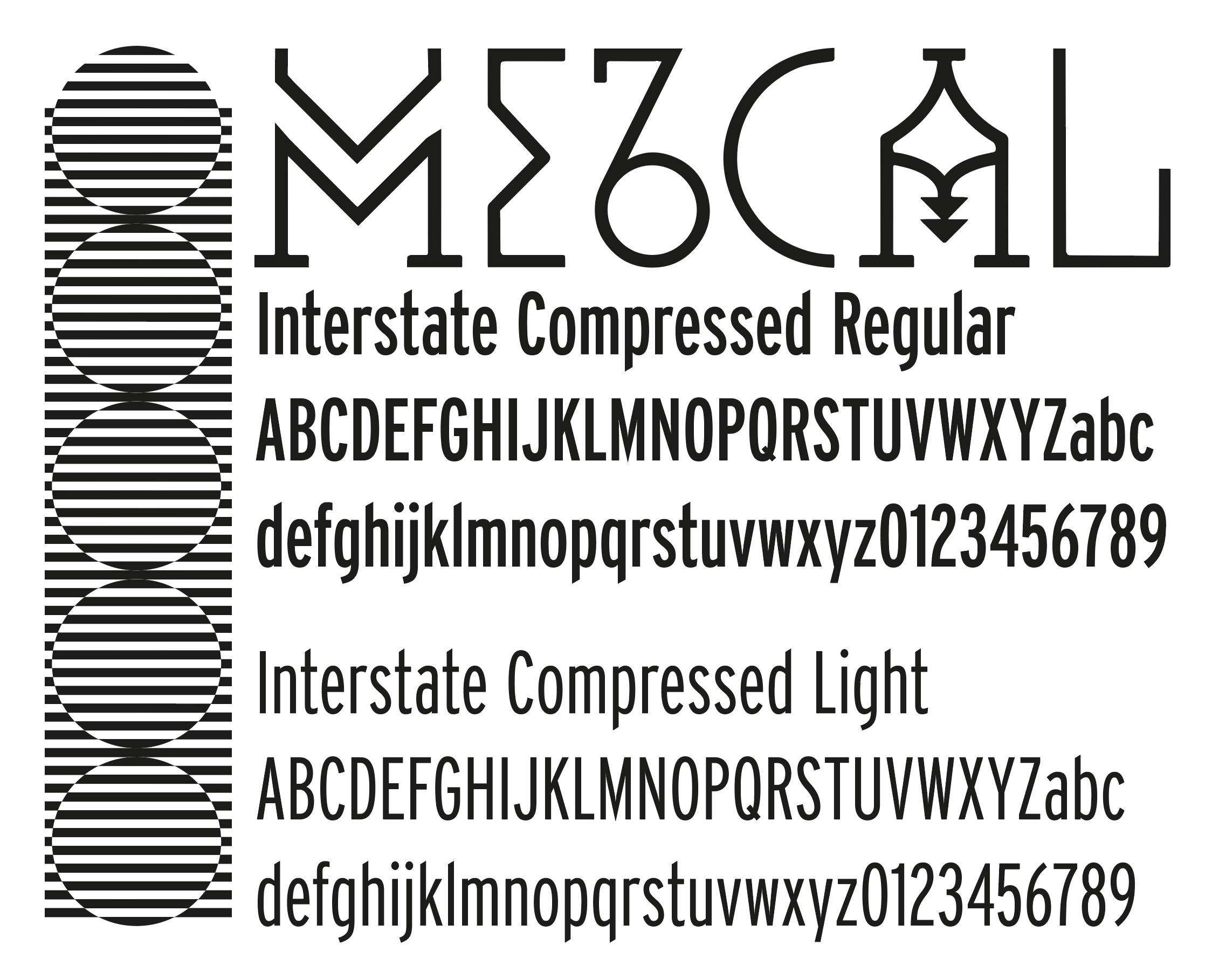 tipografia mezcal