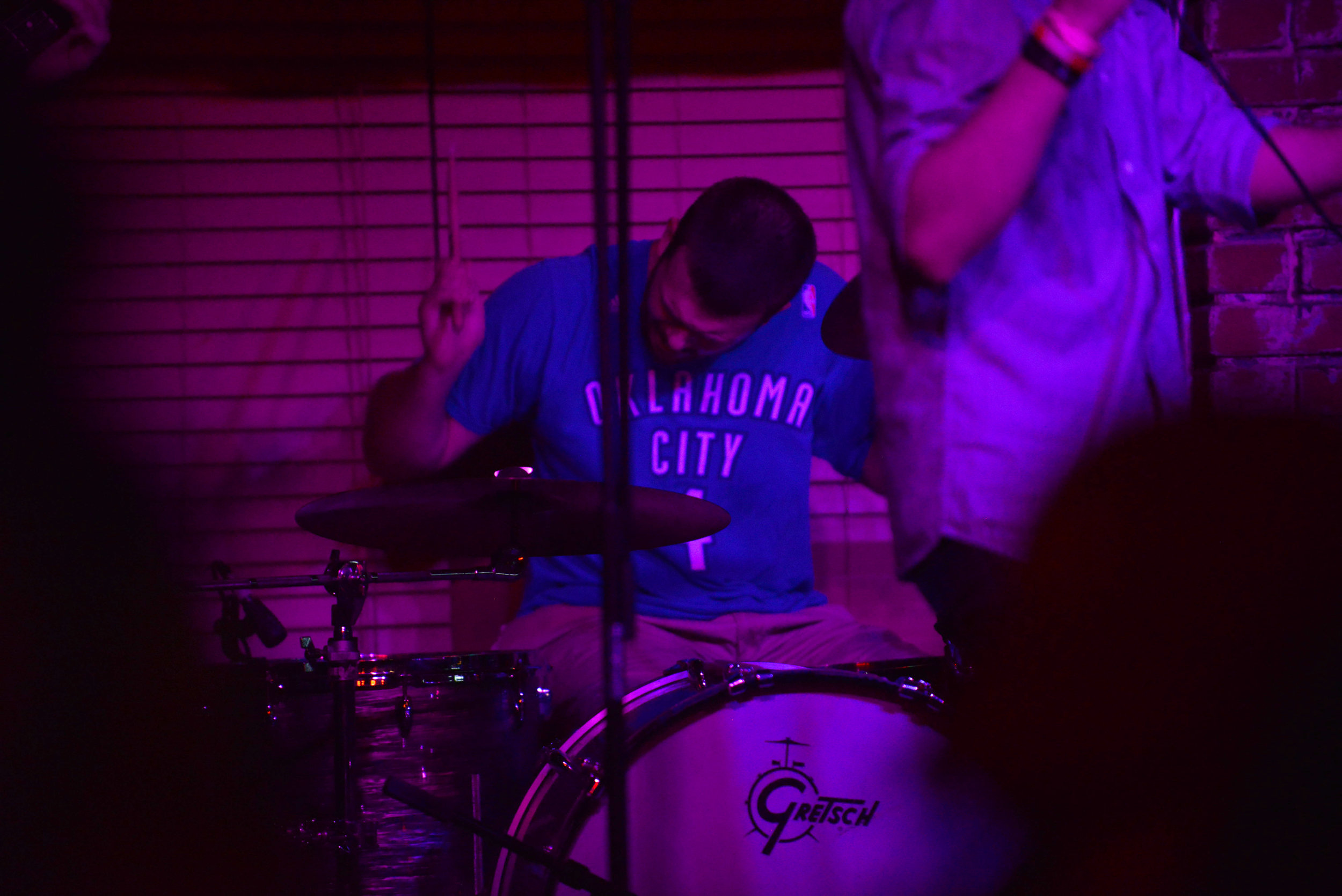 Keaton Wearing a Free Thunder T Shirt At One of our Biggest Shows.jpg