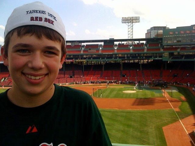 Happy birthday to this special boy!  His baseball career may not be what it once was but his spirits are high.  Wish him luck in law school, he's studying hard!