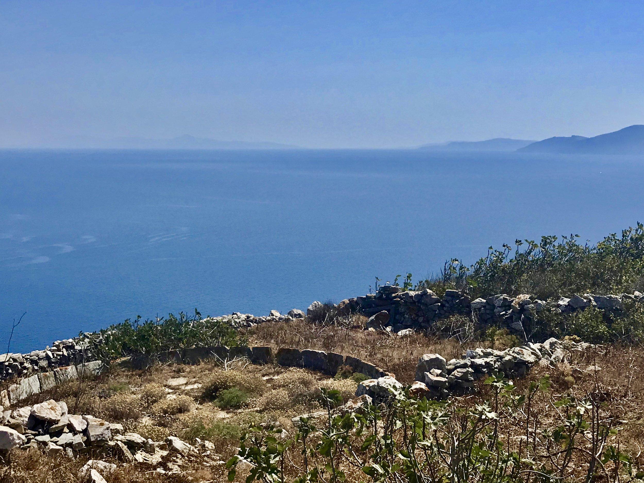 Threshing circle, Folegandros