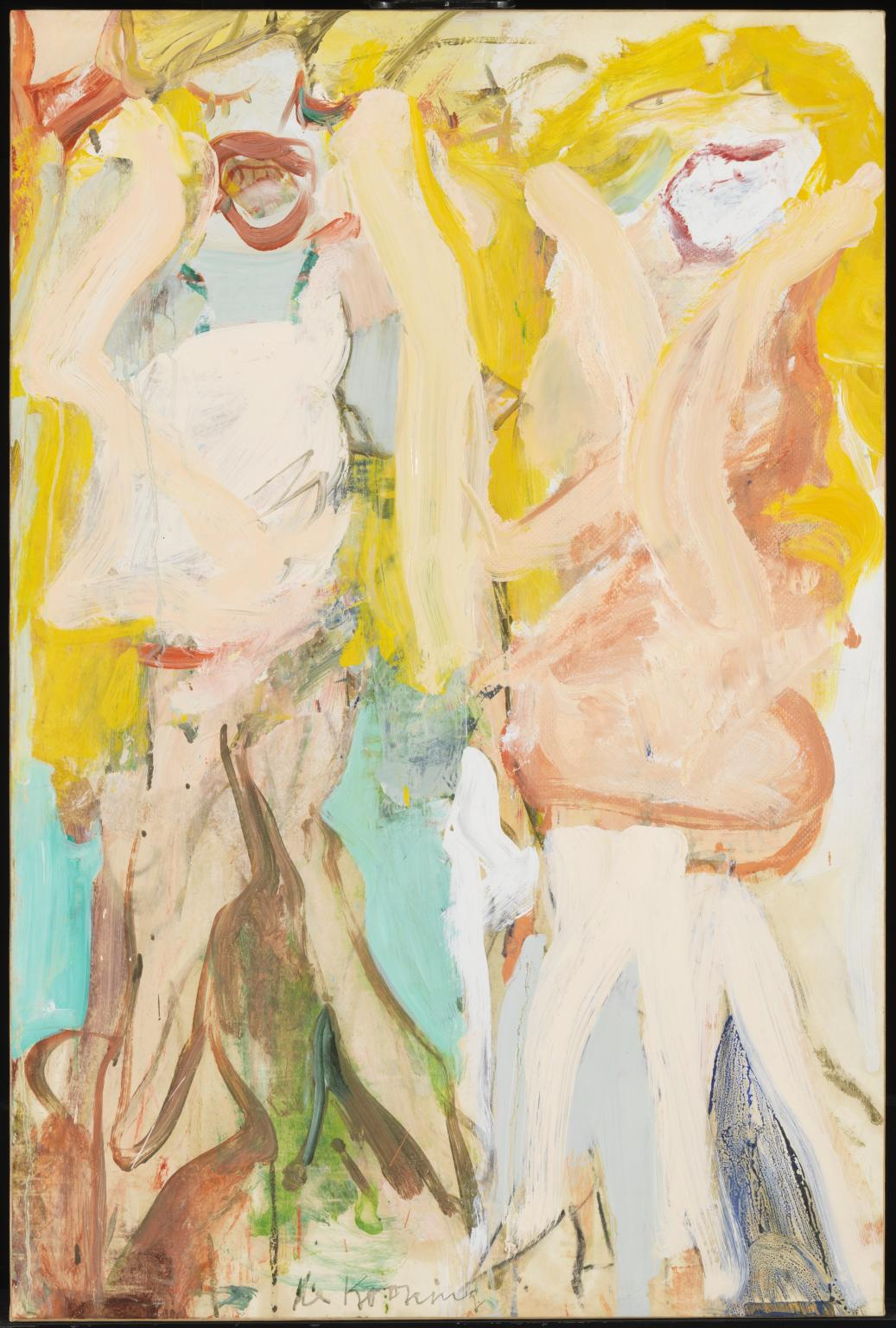 """Women Singing II"" by Willem de Kooning"
