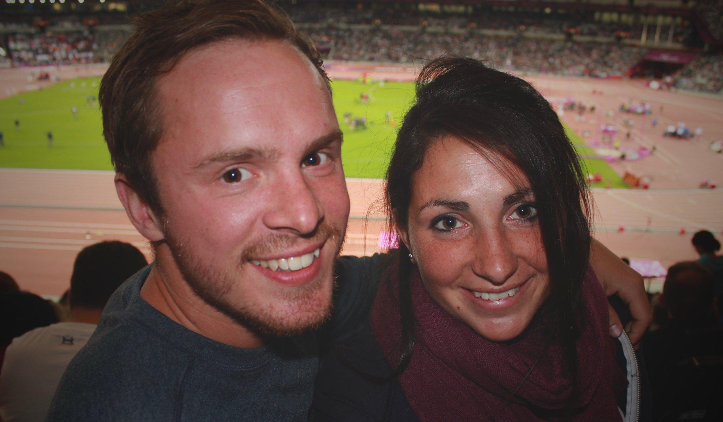 Will & Caroline at the 2012 Paralympics