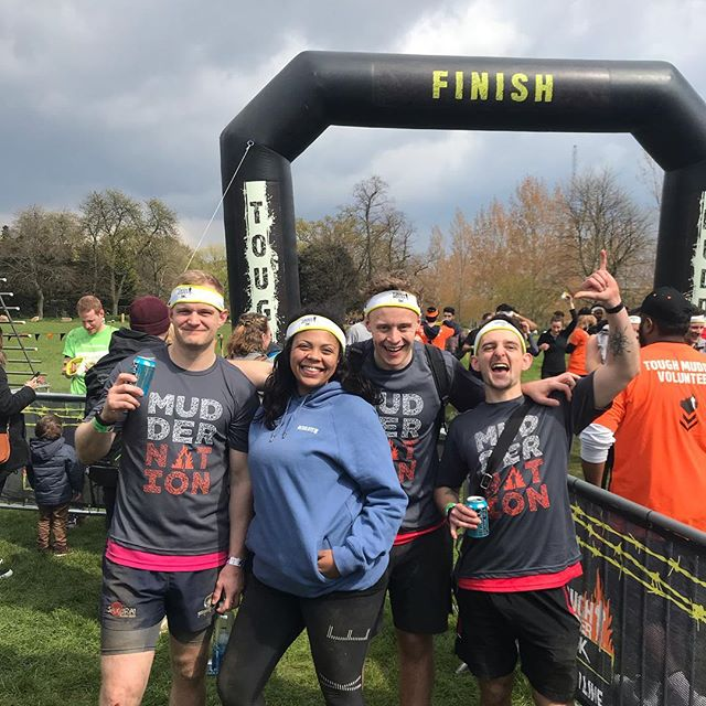A bit late posting this for good (bad) reason. Team Resolute absolutely smashed the urban tough mudder. We all crossed the finish line together. We braved the hail, YES HAIL, on the hardest obstacle on the day.  Unfortunately the next morning I had a seizure and had to go to A & E. I guess my body was fatigued and dehydrated from the alcoholic celebrations straight after. The team has raised almost £1400 on just giving and FB donations so THANK YOU ALL FOR YOUR KINDNESS. Hopefully this money can go towards solving the DVLA's flawed rules against brain tumour patients driving. After only just getting my license back after 4 years since the first seizure in March 2015. It will now be whisked away for 6 months.  I feel absolutely fine today and I'm in Guildford to see my counsellor. All via train.  I will post a video about an update of my own situation and probably a video to create awareness on how the DVLA are wrongly treating us patients.  I'm still smiling and I'm still standing after a tough weekend! Always remember NEVER GIVE UP NEVER GIVE IN.  #weareresolute #toughmudder #finsburypark #cancer #braintumpur #braintumor #braincancer #fuckcancer #fitness #fitnessmotivation #motivation #fitfam #exercise #health #cancersucks #pma #nevergiveupnevergivein #tumourslayer #fight #running #charity #fundraising #braintumourcharity #london