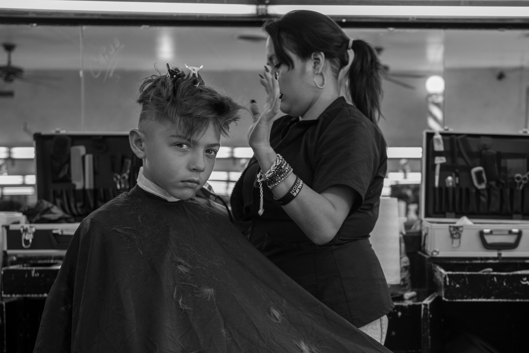 Barber College, Jefferson Ave.
