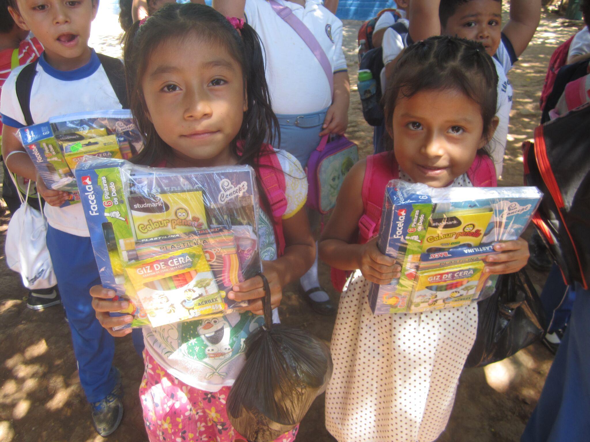 El Salvador<strong>School Supplies</strong><a>Learn More →</a>