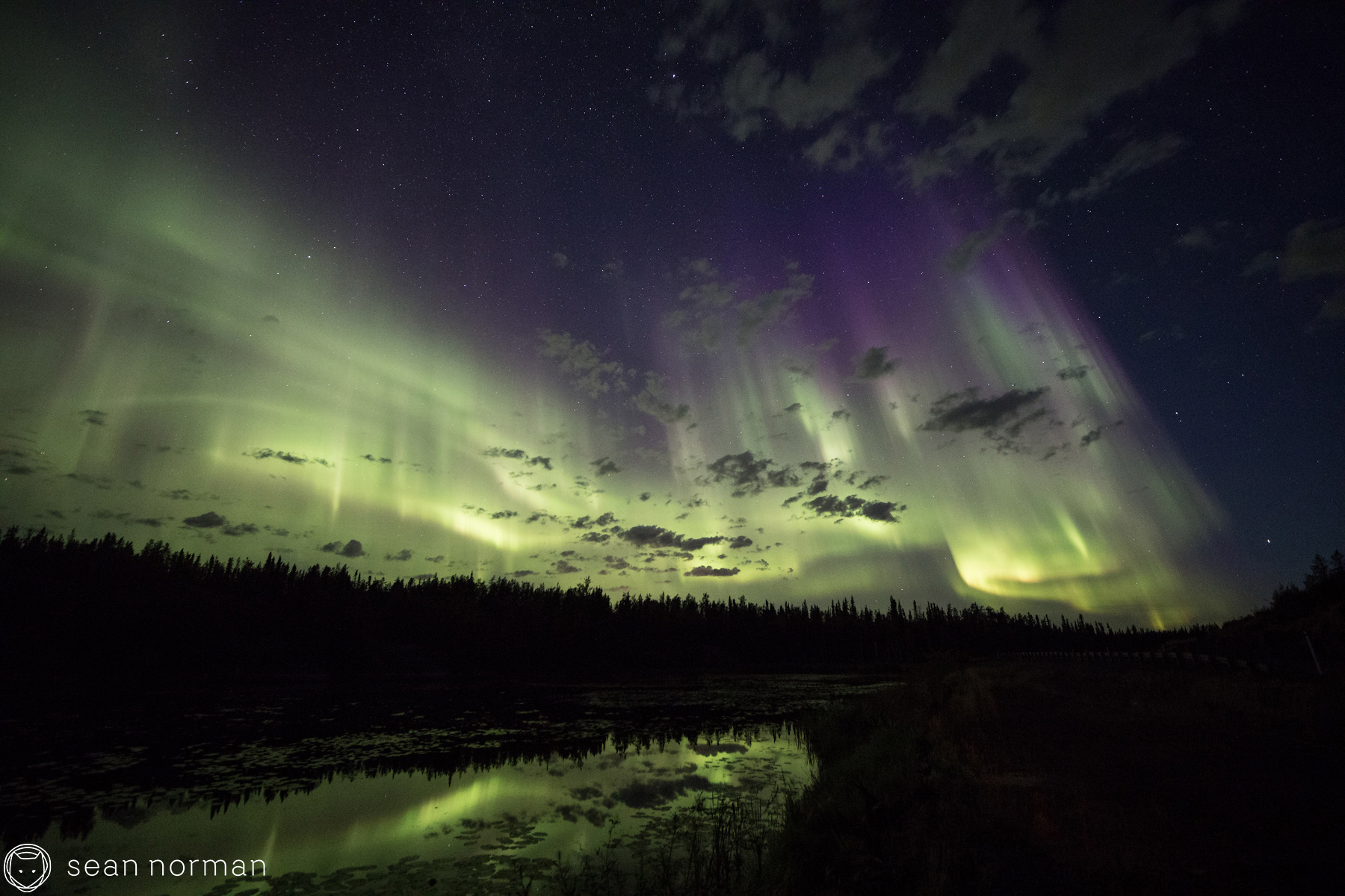 Autumn Auora Viewing in Yellowknife - Sean Norman Aurora Chaser - 3.jpg
