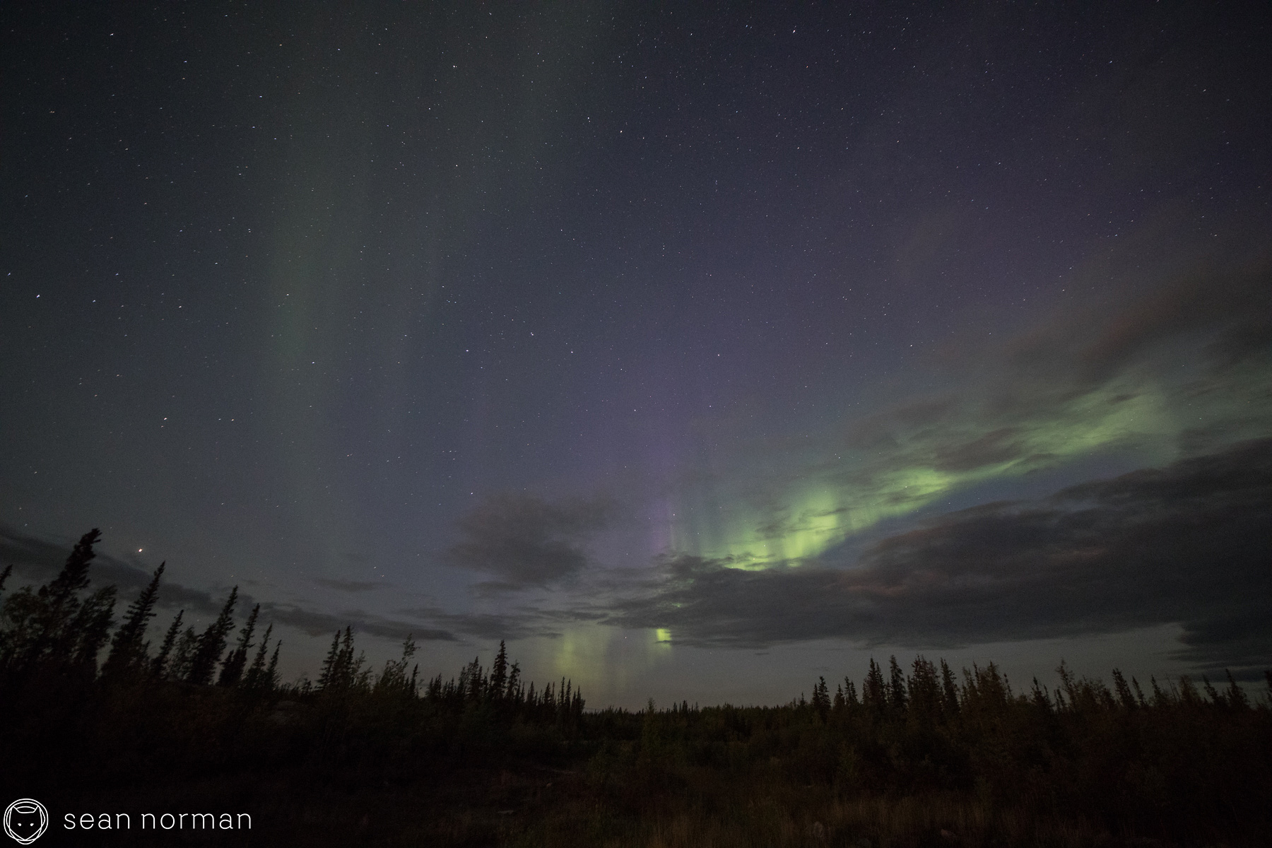 Yellowknife Autumn Aurora - Photographer and Guide Sean Norman - 2.jpg