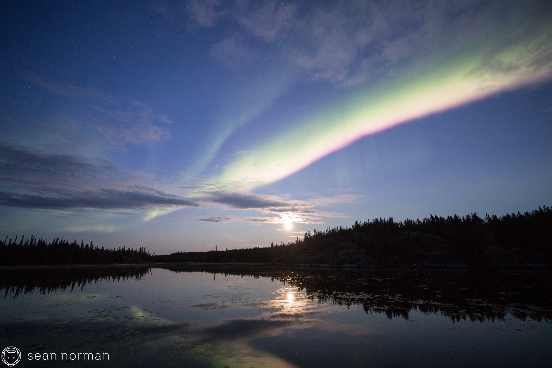 Yellowknife Autumn Aurora - Photographer and Guide Sean Norman - 1.jpg