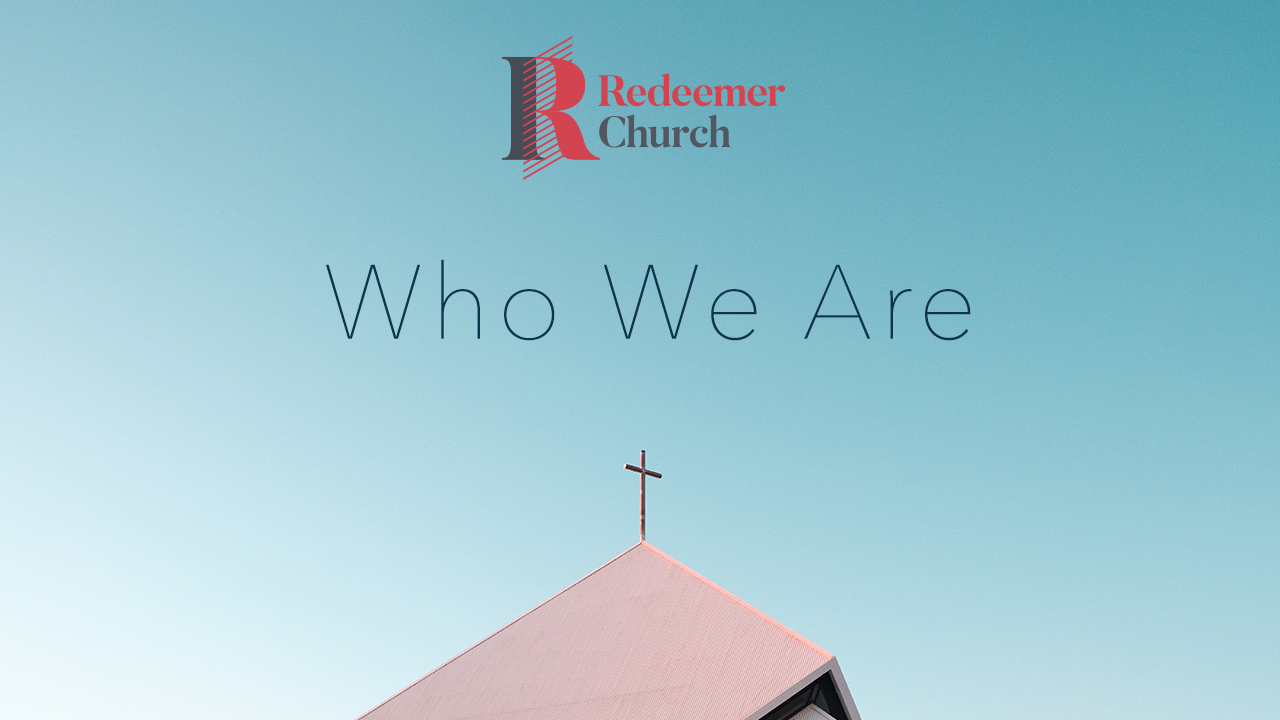 Our first teaching series as a church was about finding our identity in Jesus.