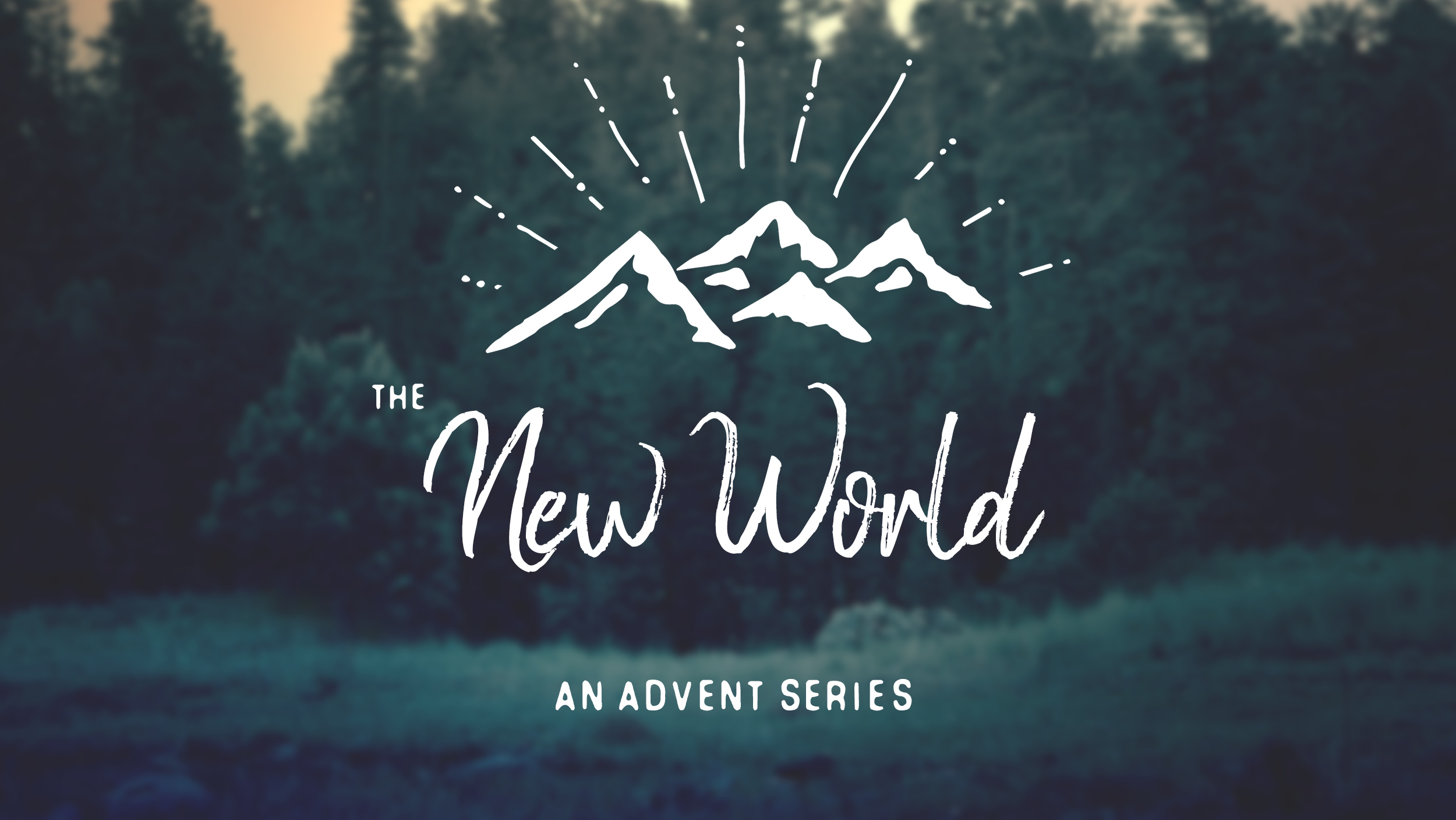 A brief look into what it means for us that Jesus was born into our world.