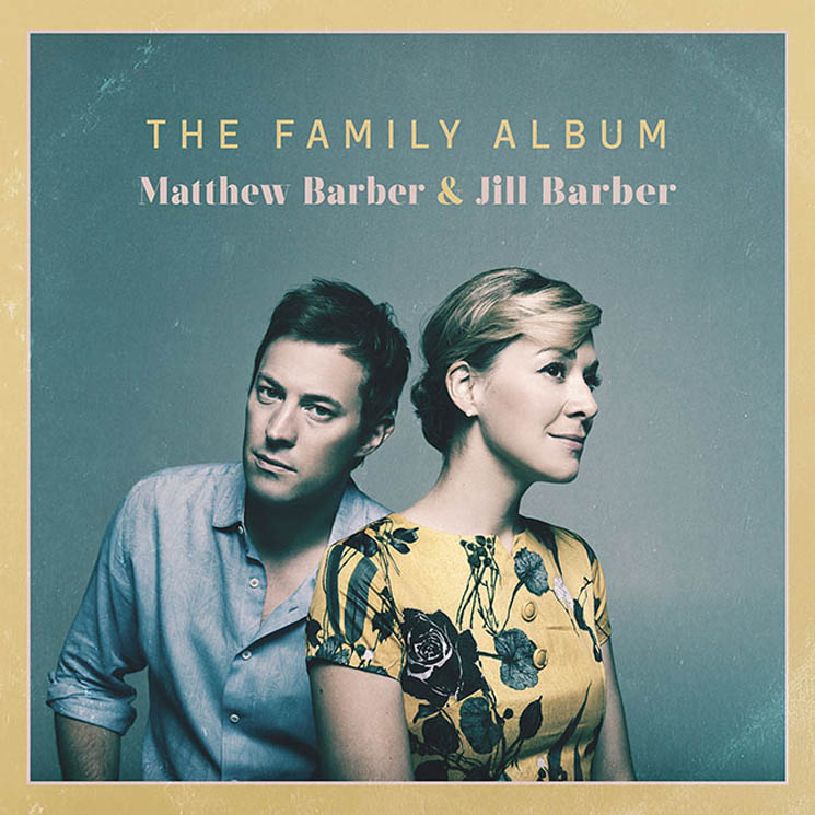 Matthew Barber & Jill Barber - The Family Album - 2016 (Assistant Engineer)