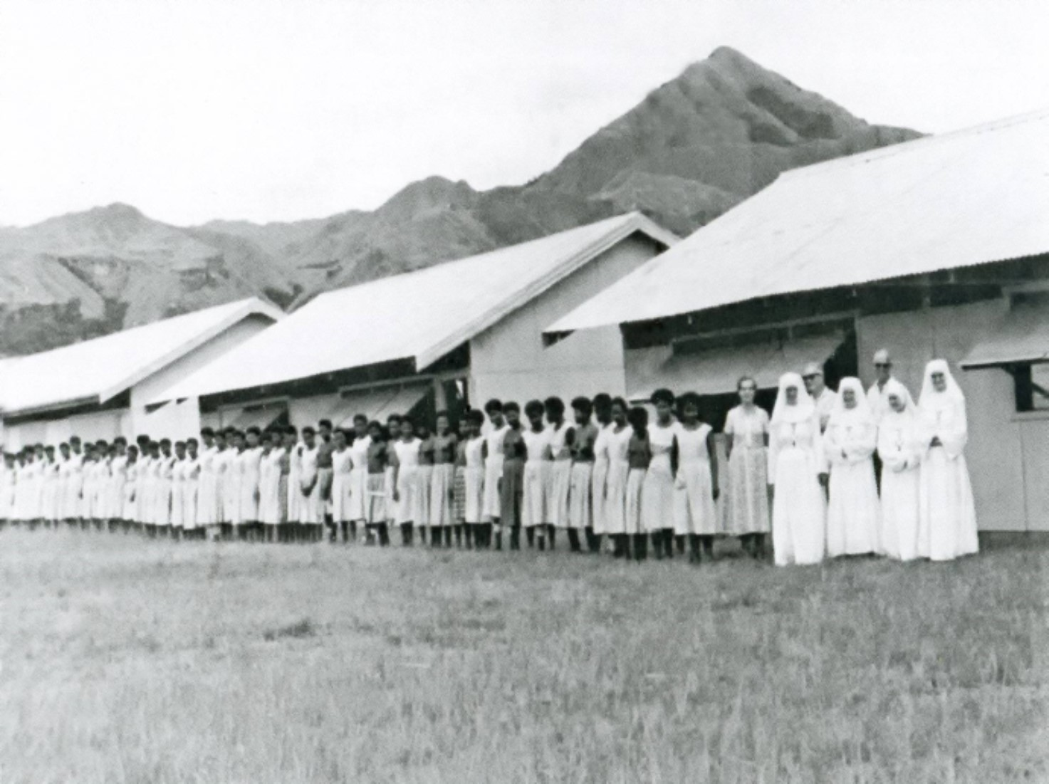 The Holy Name School, set up by CHN Sisters.