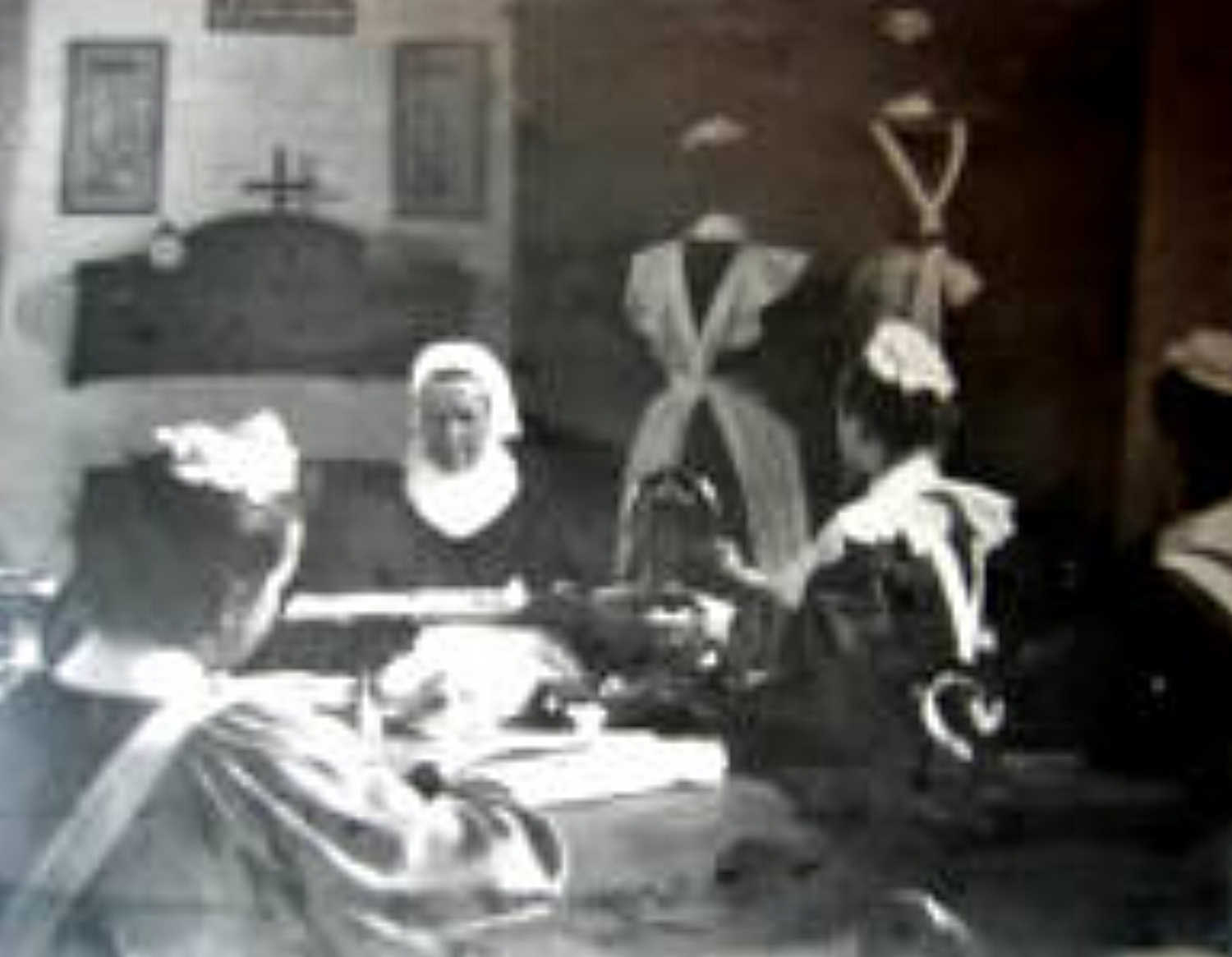 Girls with a Sister at the House of Mercy