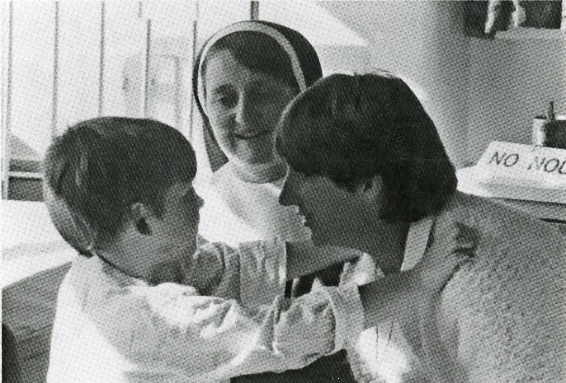 Sister Felicity at the Royal Children's Hospital.