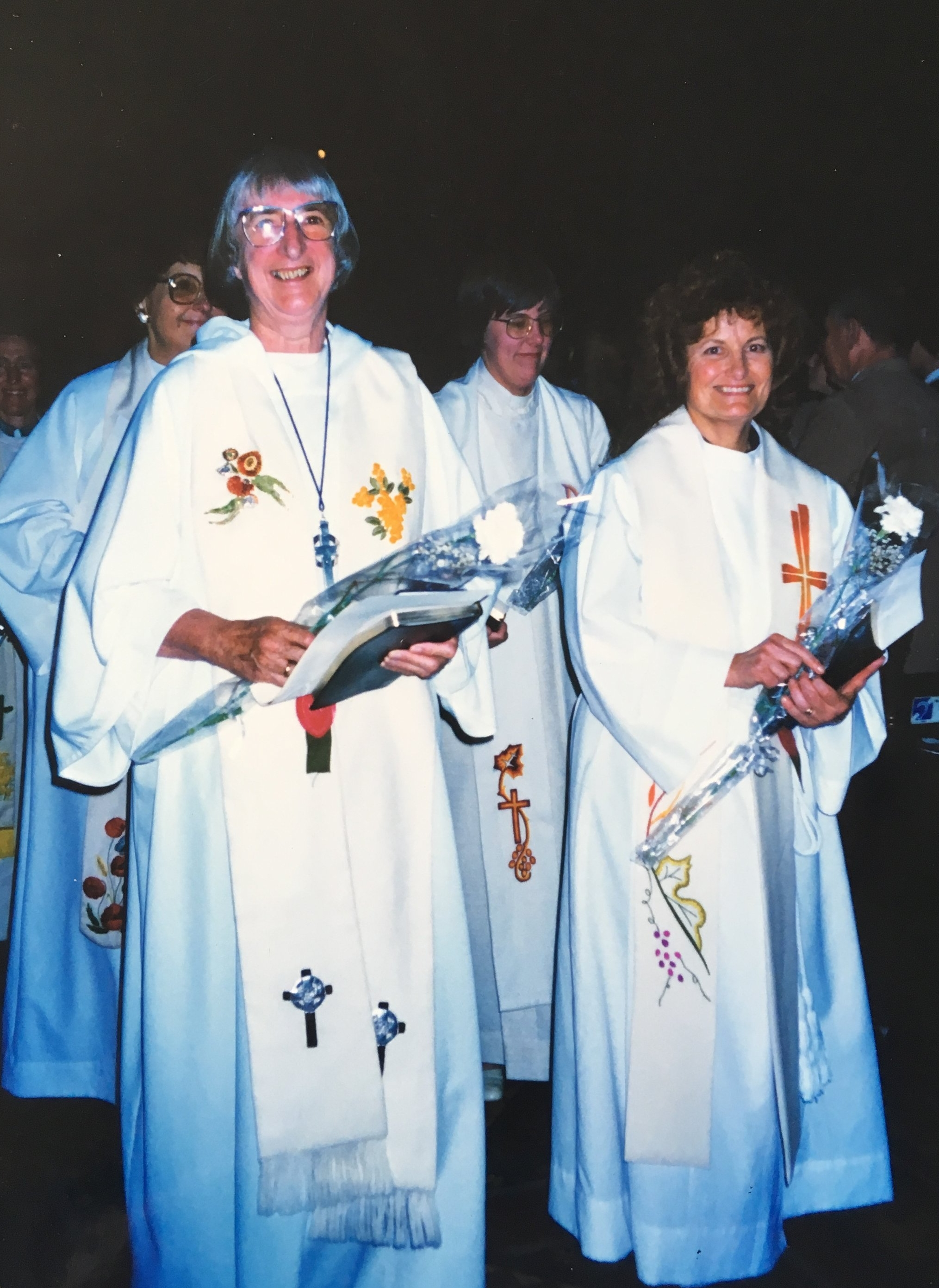 Sister Margaret Anne is ordained, 1992.
