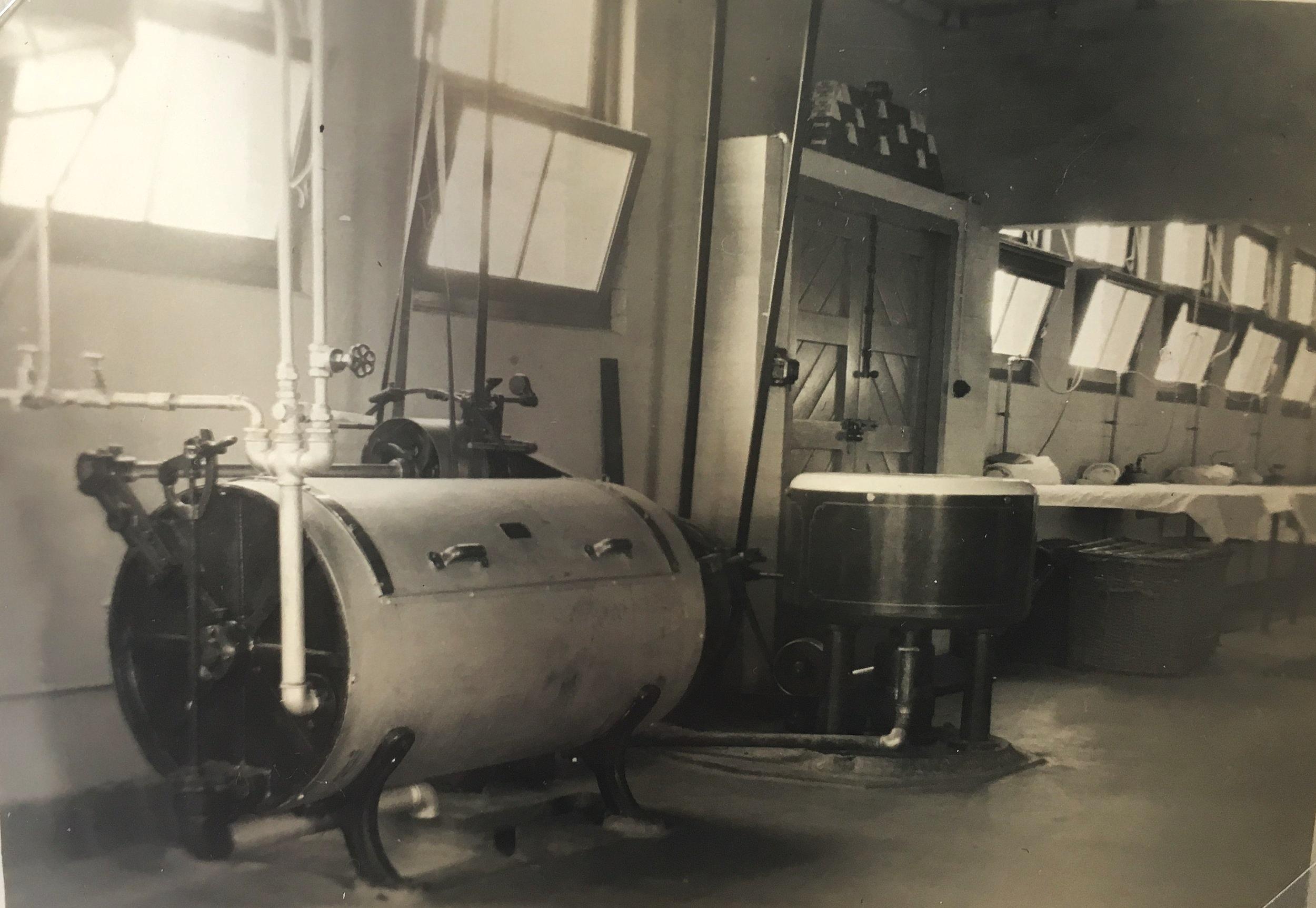 1938 new boiler
