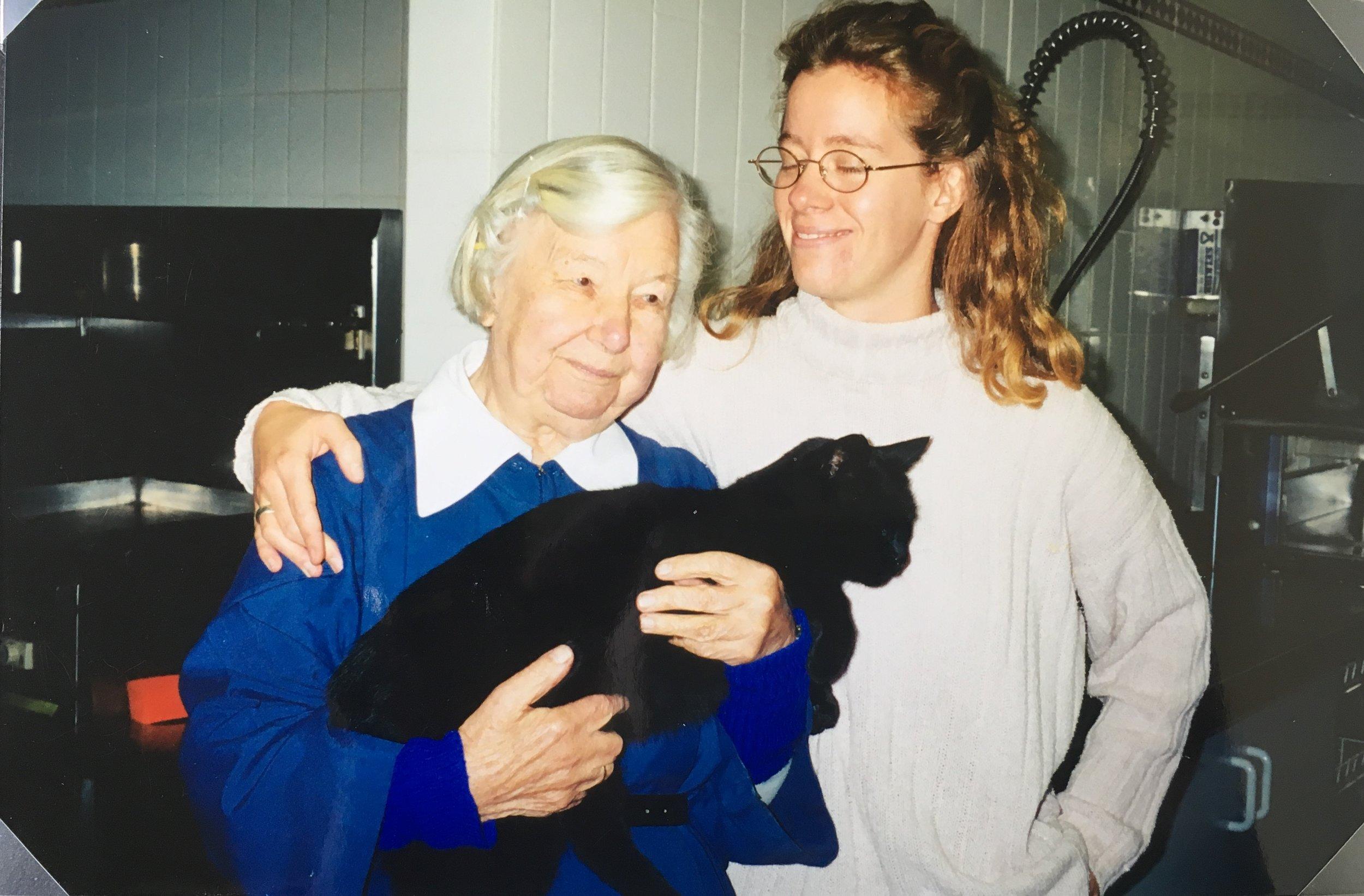 1999 Sr Joyce, Sarah Webster & Tom