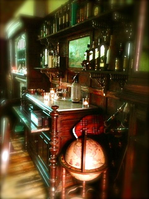 Library of Liquor panels