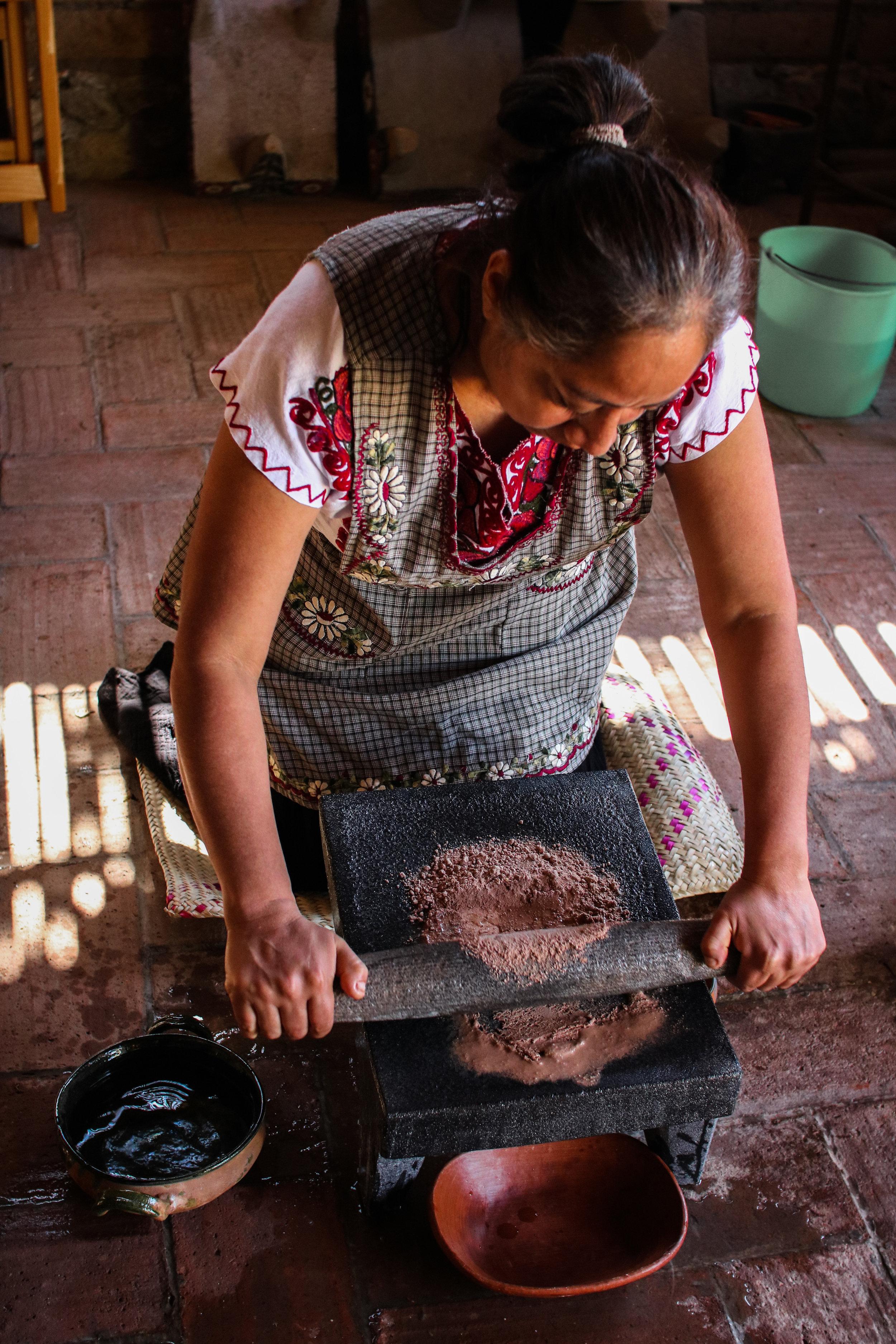 Carina Montano makingruby craig - green cocoa pod close up -48.jpg