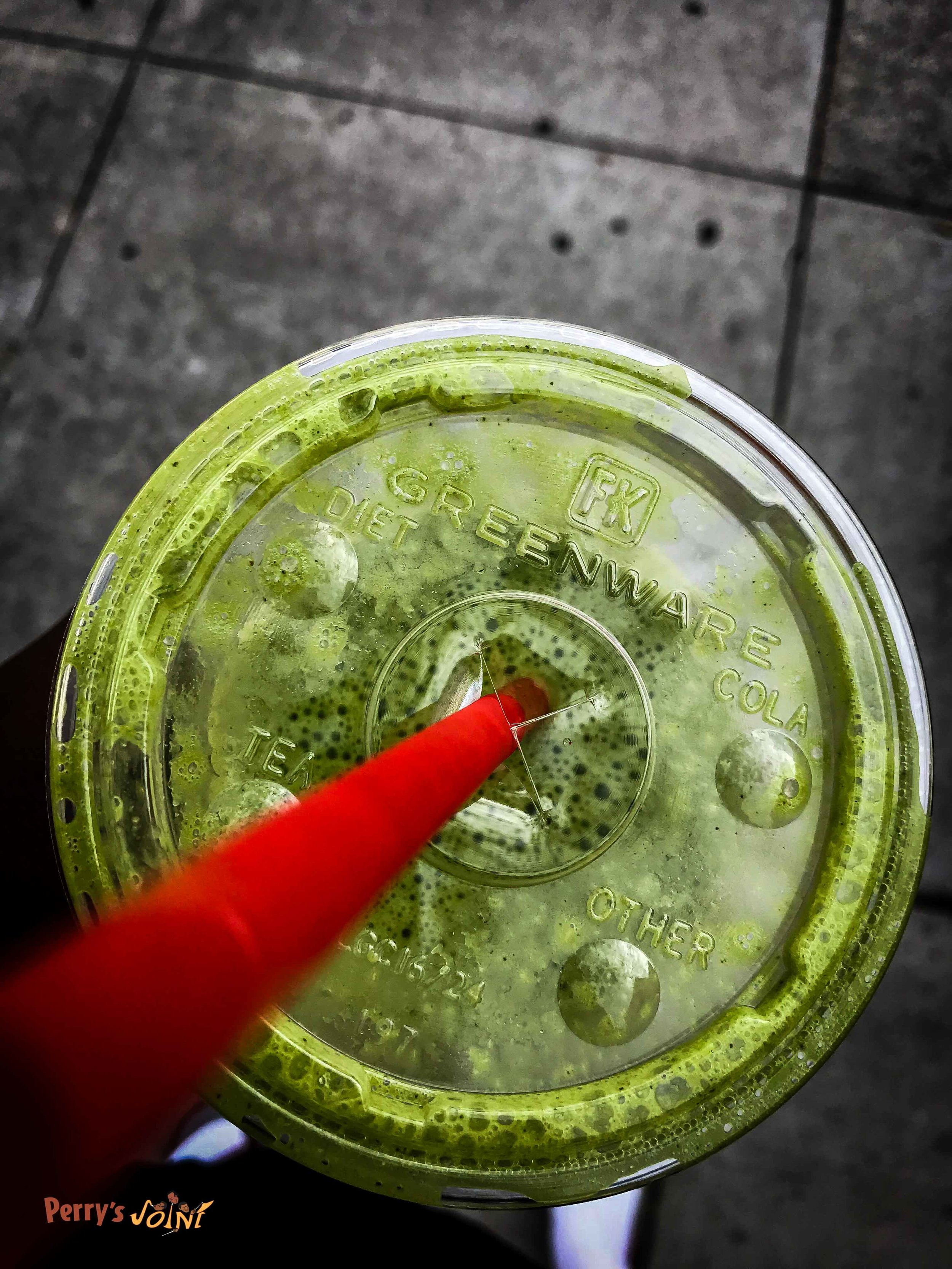 Perry's Joint   The Green Drink