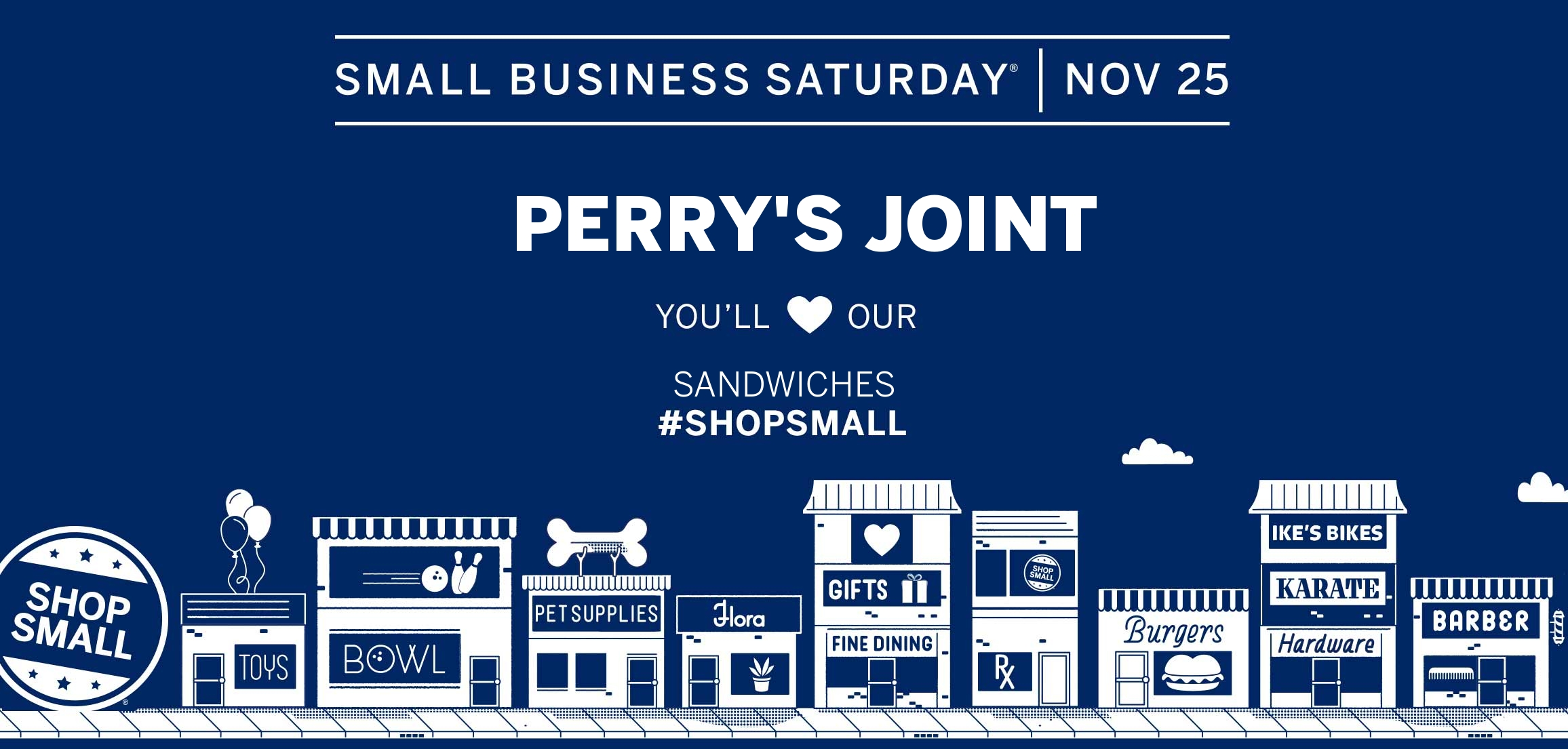 Perry's Joint Small Business Saturday | 11.25.17