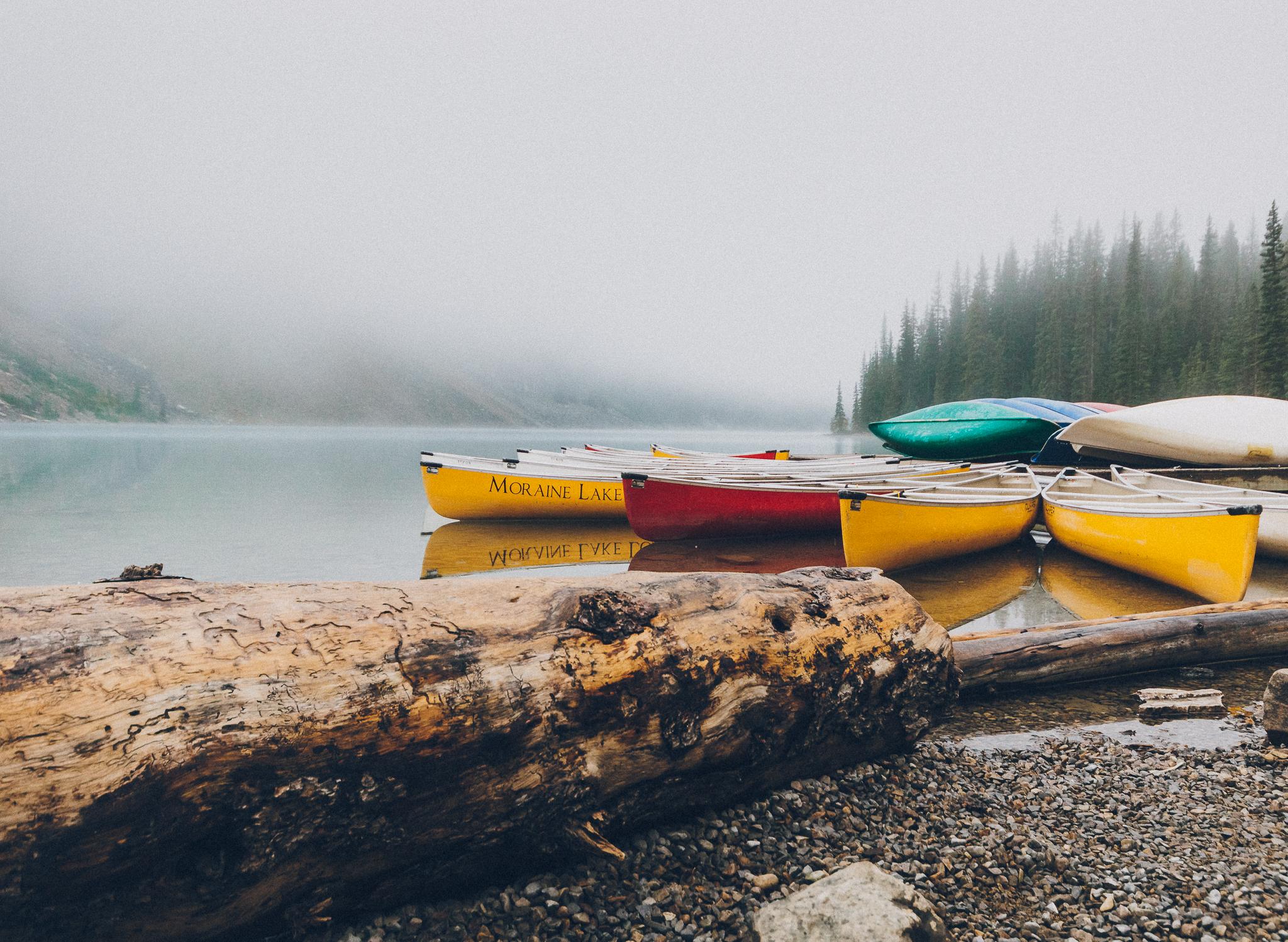 Moraine Lake, Alberta Canada.