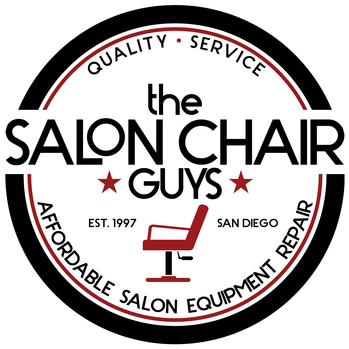 The Salon Chair Guys are repairing and restring your salon and barber chair like no other. And they have an awesome chair cleaner as well. Click the logo to learn more.