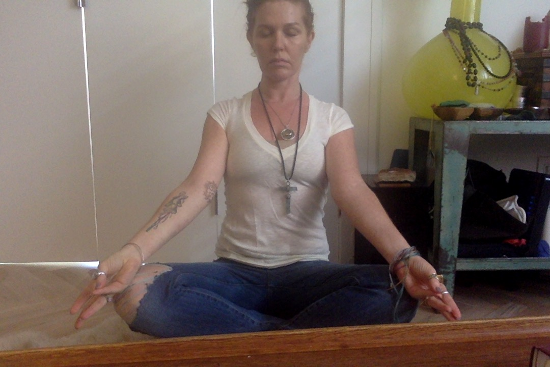Mudra for the remaining days of the meditation