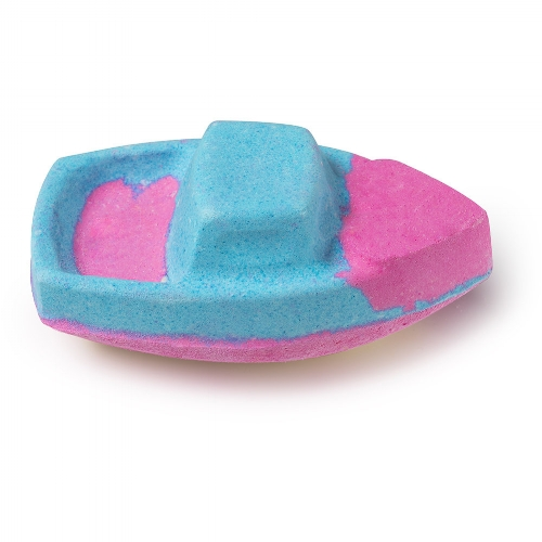 How cute is this bath bomb? - I mean, I love their regular round bath bombs, but this one really hit home. This baby smells pretty sweet but really refreshing at the same time.