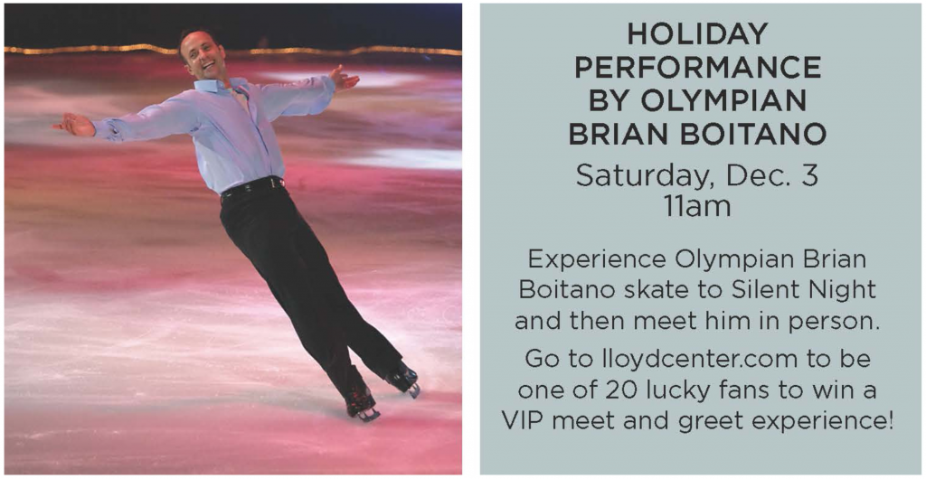 To enter to win a VIP meet and greet experience email info@lloydcenter.com for you name to be entered into the drawing or visit customer service.