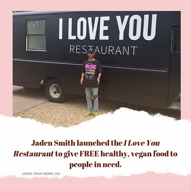 Happy Birthday Jaden and thank you for what you're doing to enhance the lives of others. 🌱 — If nothing else, we all have the ability to serve others. So SERVE! — Who did you help or serve today? If it was no one, then we challenge you to do one small act of kindness every day for the next 30 days!!! — #UnveilYourCrown #UYC #ActofKindness #Service #JadenSmith #WalkInYourPurpose #PurposeDriven #Purposeful